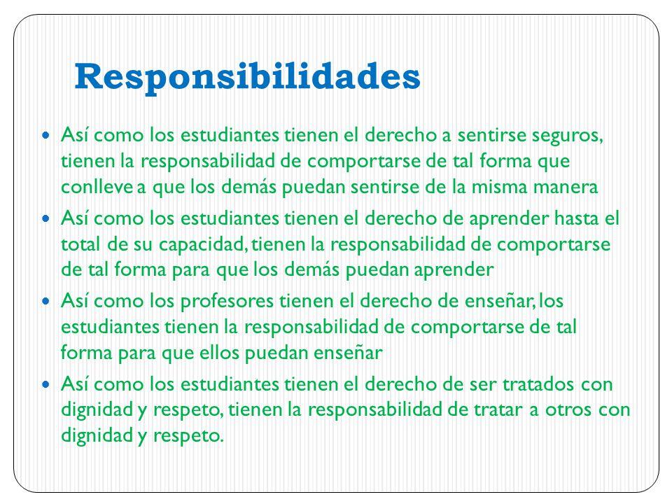 Responsibilidades