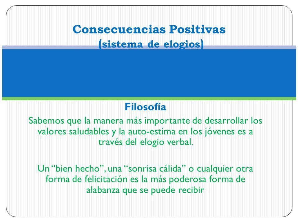 Consecuencias Positivas (sistema de elogios)
