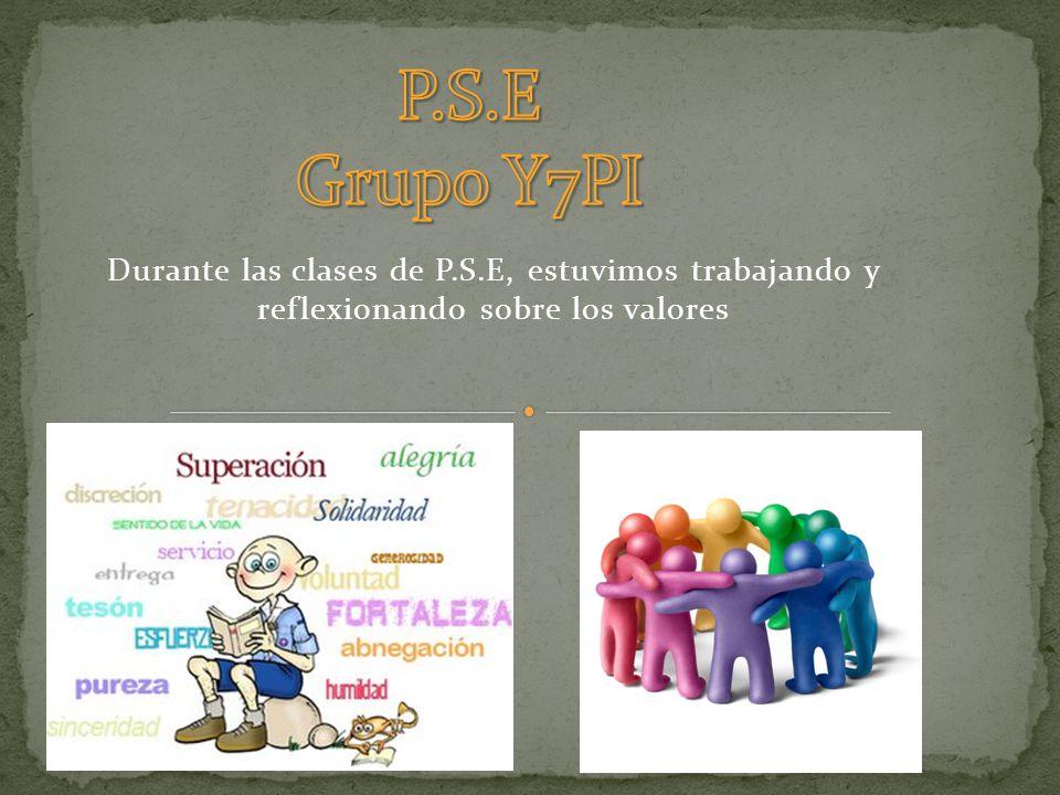 P.S.E Grupo Y7PI.