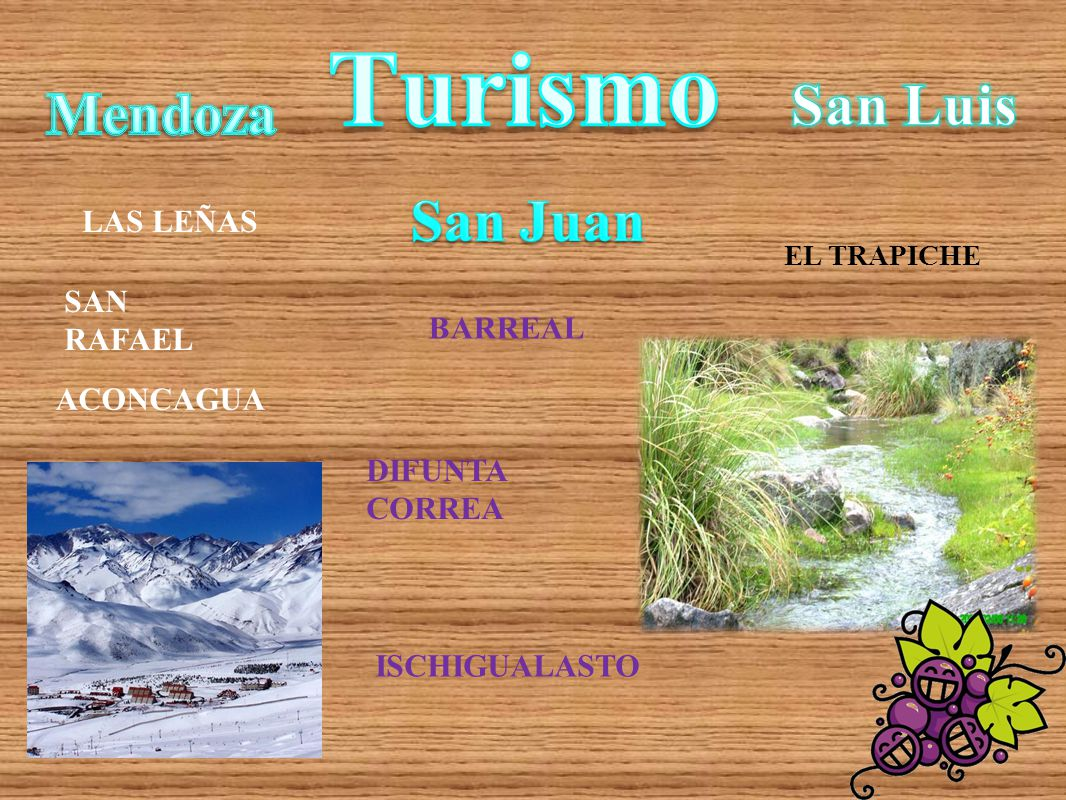 Turismo San Luis Mendoza San Juan LAS LEÑAS SAN RAFAEL BARREAL