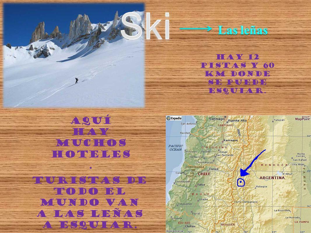 Ski Las leñas Aquí hay muchos hoteles.
