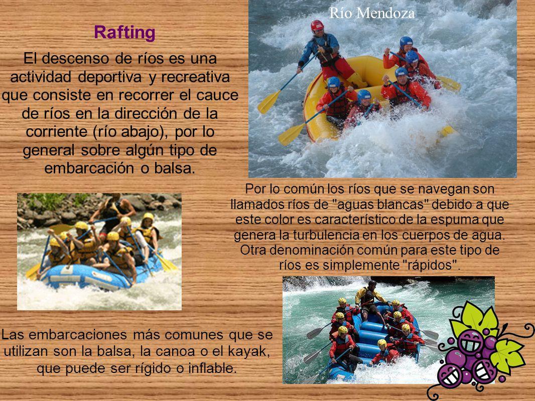 Río Mendoza Rafting.