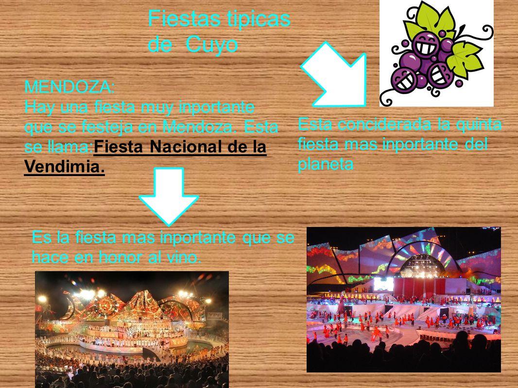 Fiestas tipicas de Cuyo