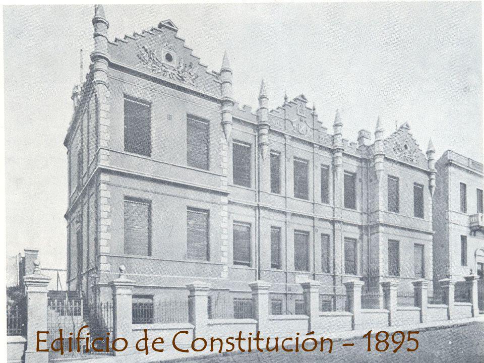 Edificio de Constitución - 1895