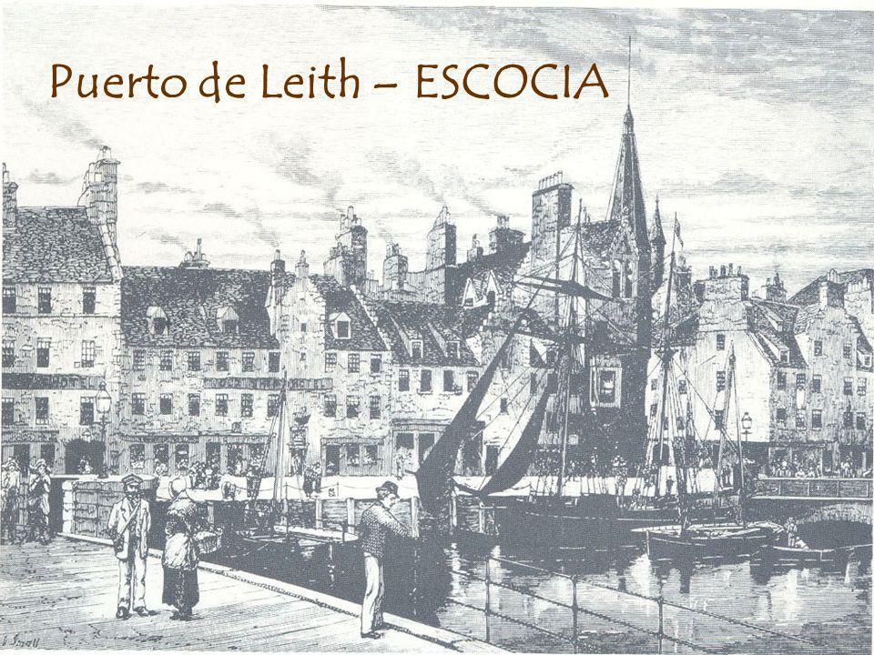 Puerto de Leith – ESCOCIA