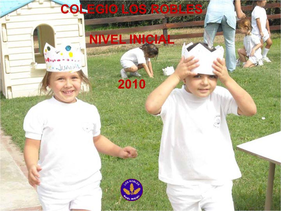 COLEGIO LOS ROBLES NIVEL INICIAL 2010