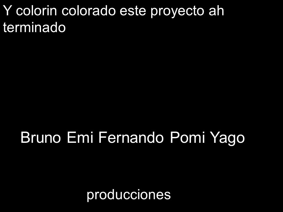 Bruno Emi Fernando Pomi Yago