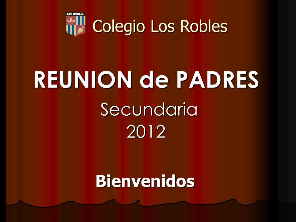 REUNION de PADRES Secundaria 2012