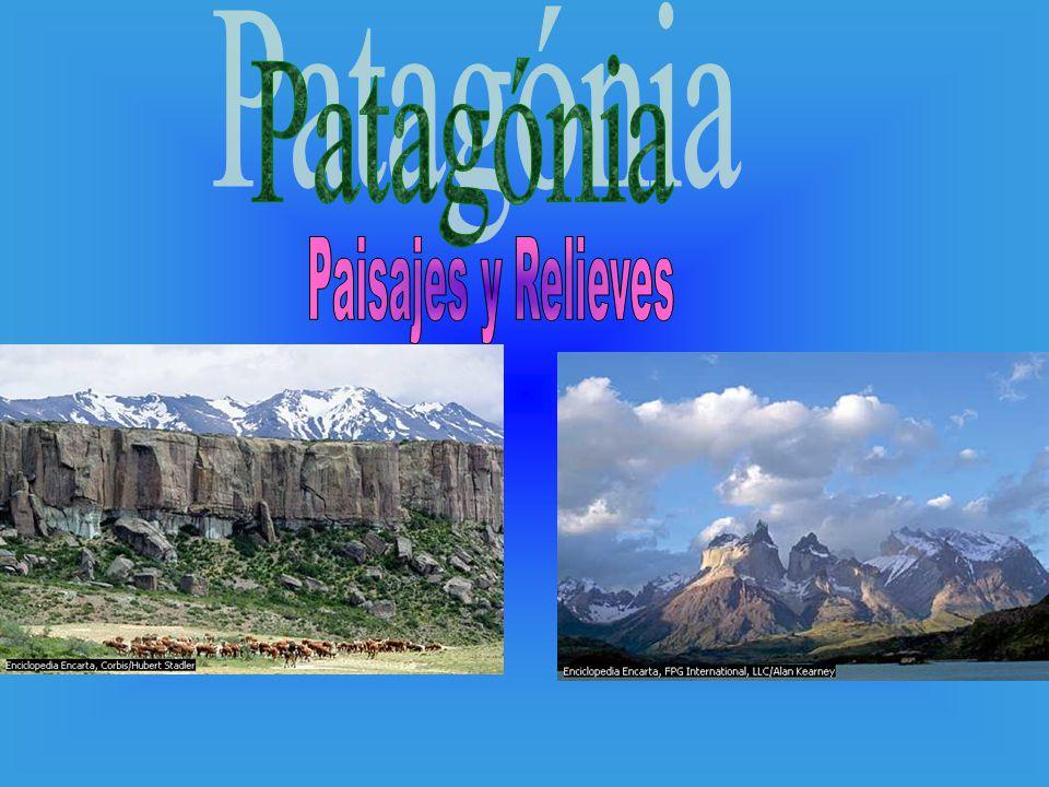 Patagónia Paisajes y Relieves