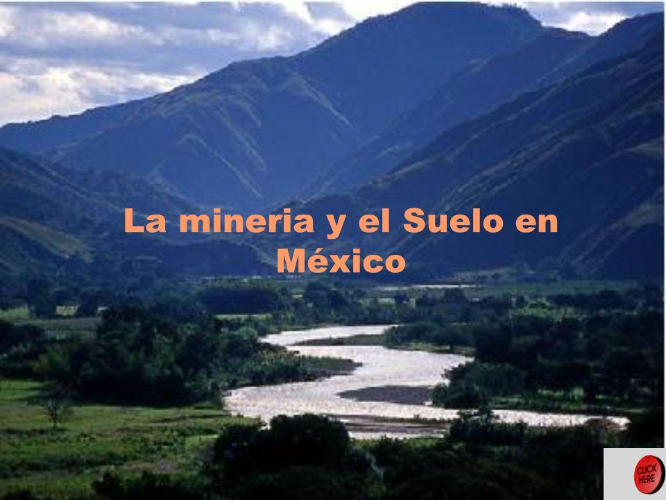 La mineria y el Suelo en México
