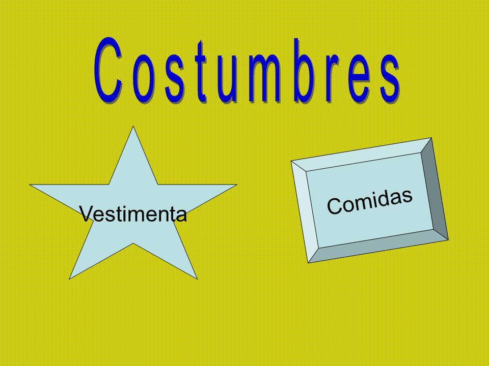 Costumbres Vestimenta Comidas