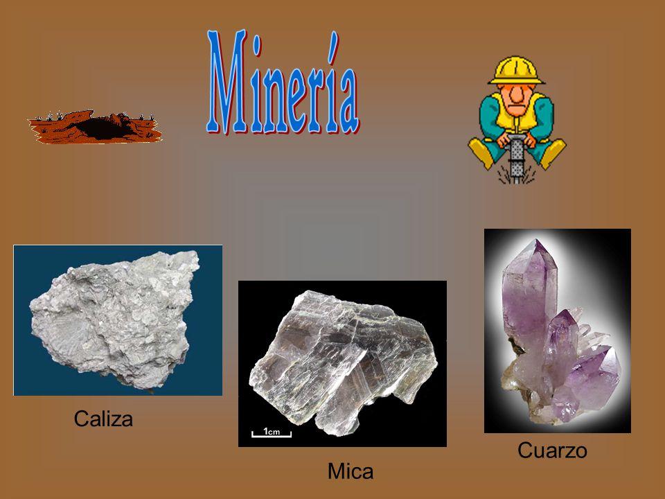 Minería Caliza Cuarzo Mica