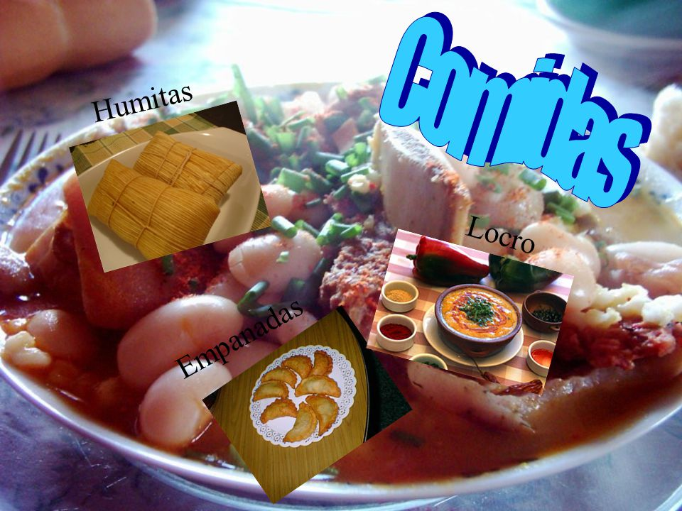 Comidas Humitas Locro Empanadas