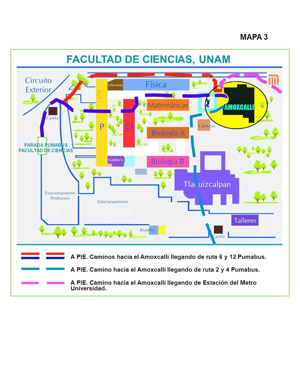 FACULTAD DE CIENCIAS, UNAM