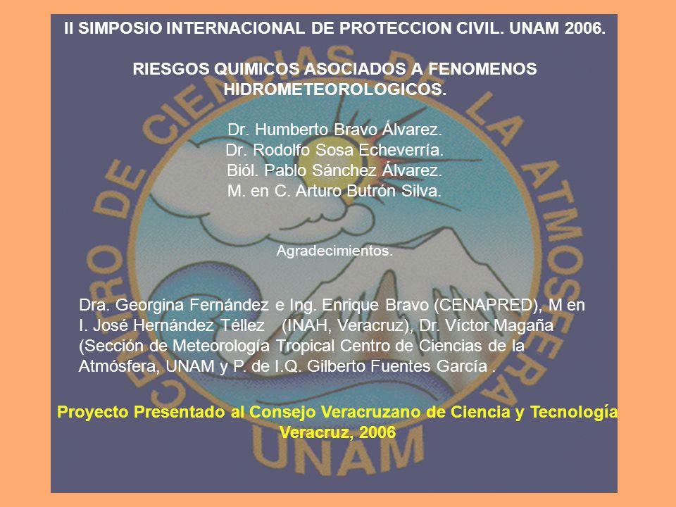 II SIMPOSIO INTERNACIONAL DE PROTECCION CIVIL. UNAM 2006