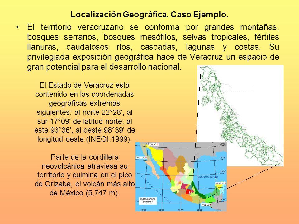 Localización Geográfica. Caso Ejemplo.
