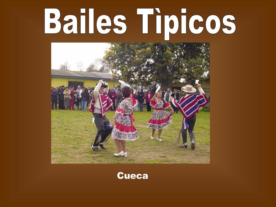 Bailes Tìpicos Cueca