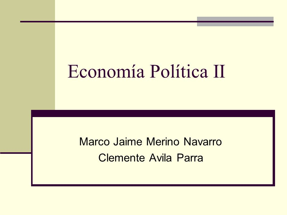 Marco Jaime Merino Navarro Clemente Avila Parra