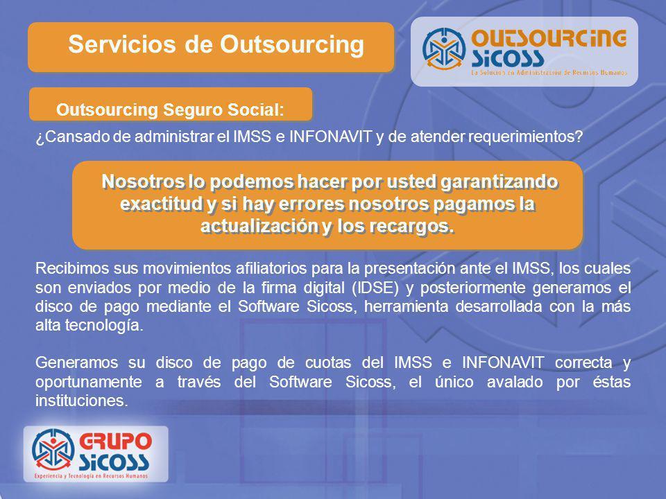 Outsourcing Seguro Social: