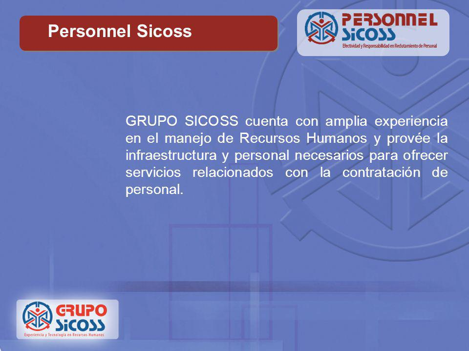 Personnel Sicoss