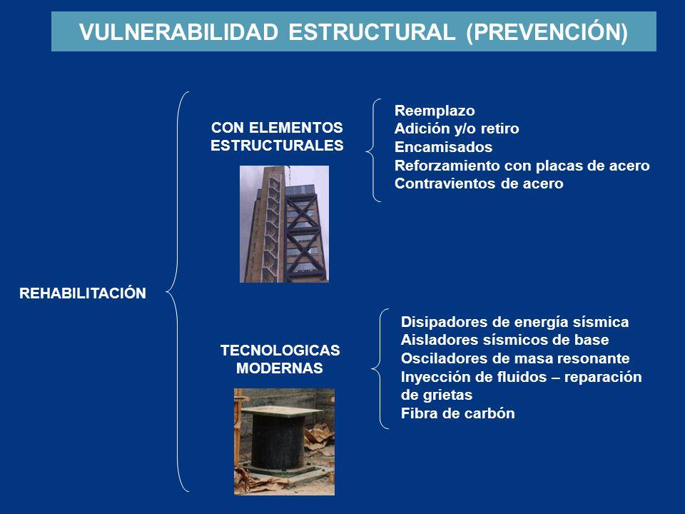 VULNERABILIDAD ESTRUCTURAL (PREVENCIÓN)