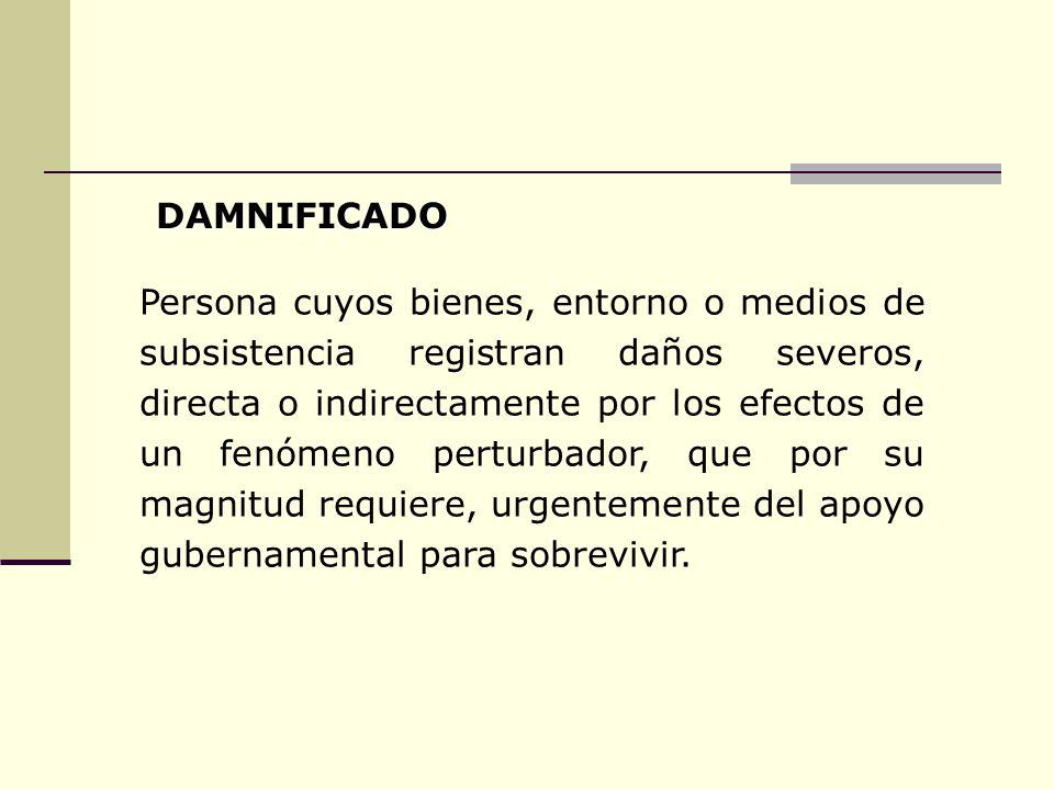 DAMNIFICADO