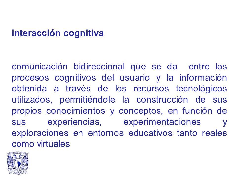 interacción cognitiva