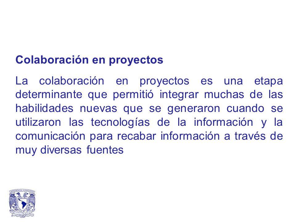Colaboración en proyectos