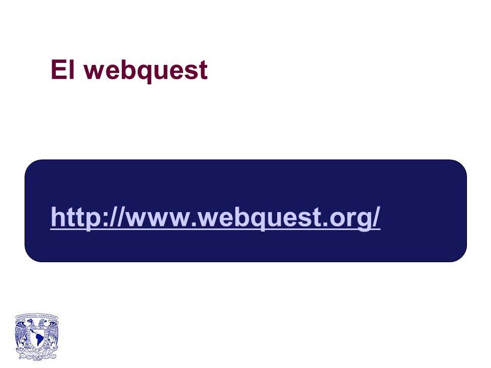 El webquest http://www.webquest.org/