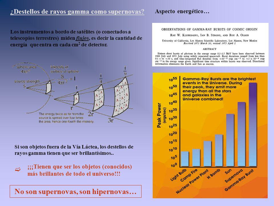 No son supernovas, son hipernovas…