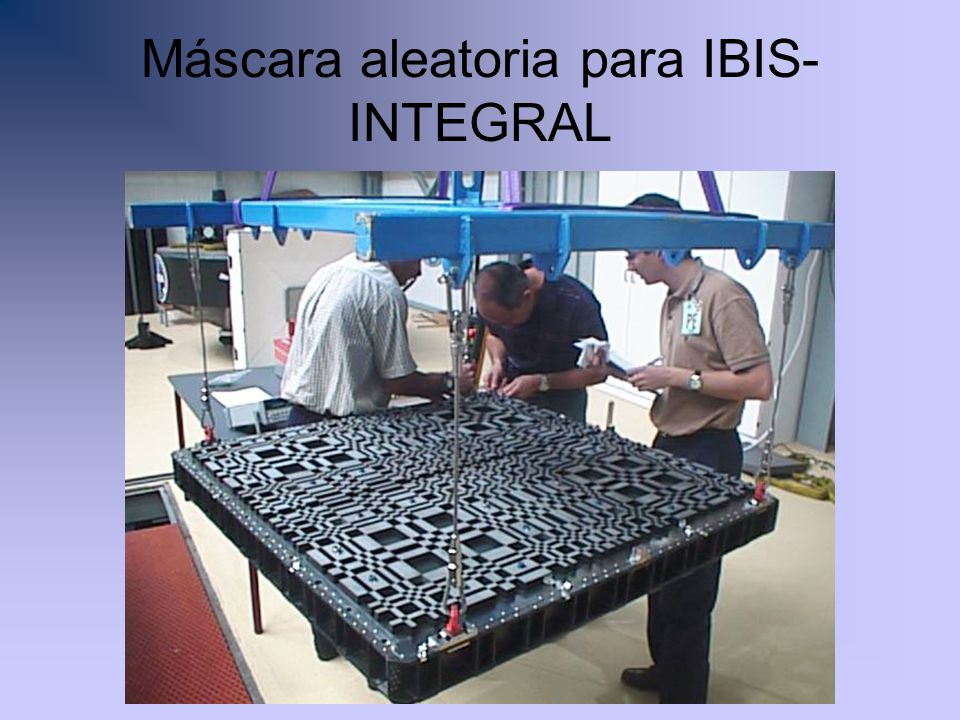 Máscara aleatoria para IBIS-INTEGRAL