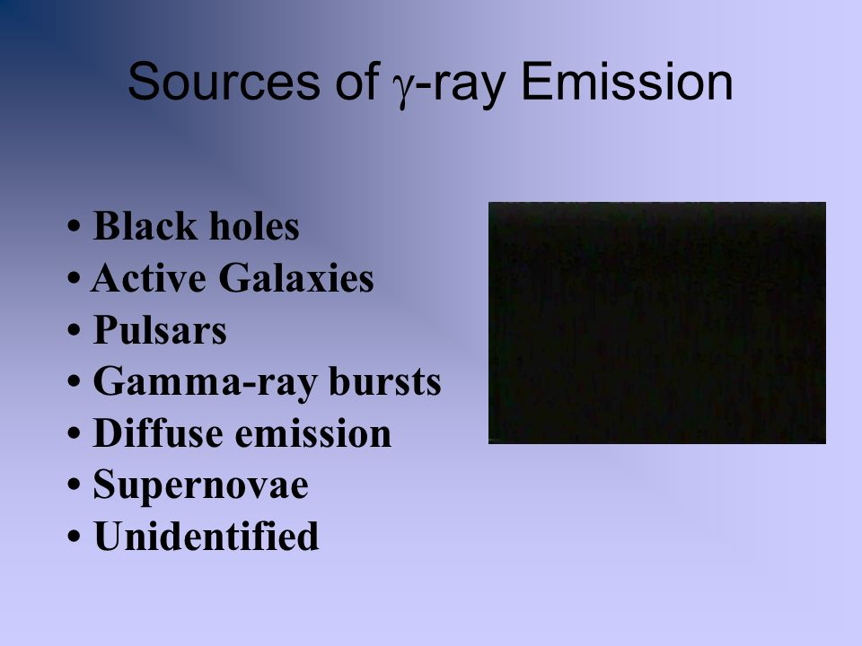 Sources of g-ray Emission