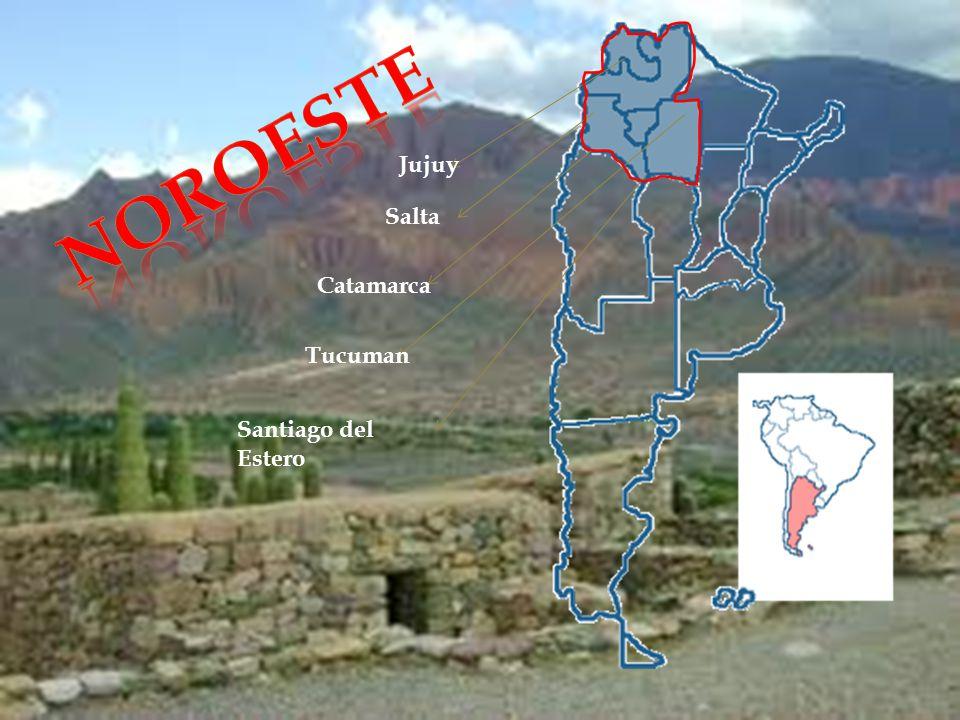 Noroeste Jujuy Salta Catamarca Tucuman Santiago del Estero