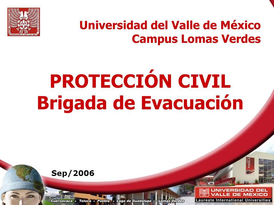 PROTECCIÓN CIVIL Brigada de Evacuación