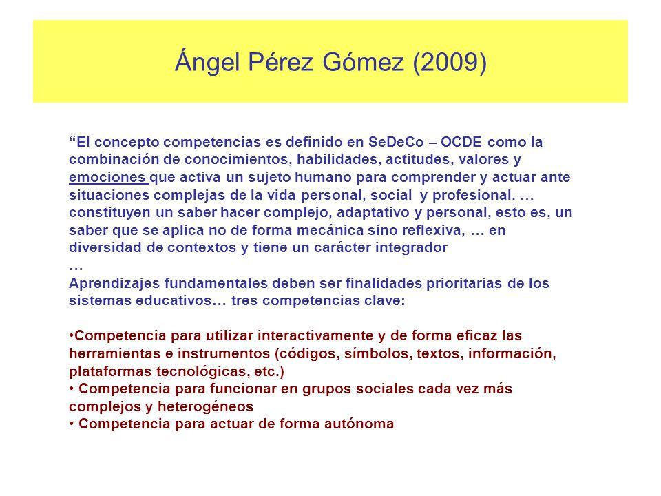 Ángel Pérez Gómez (2009)