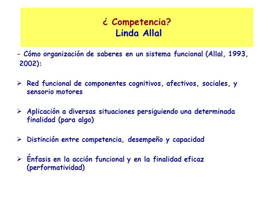 ¿ Competencia Linda Allal