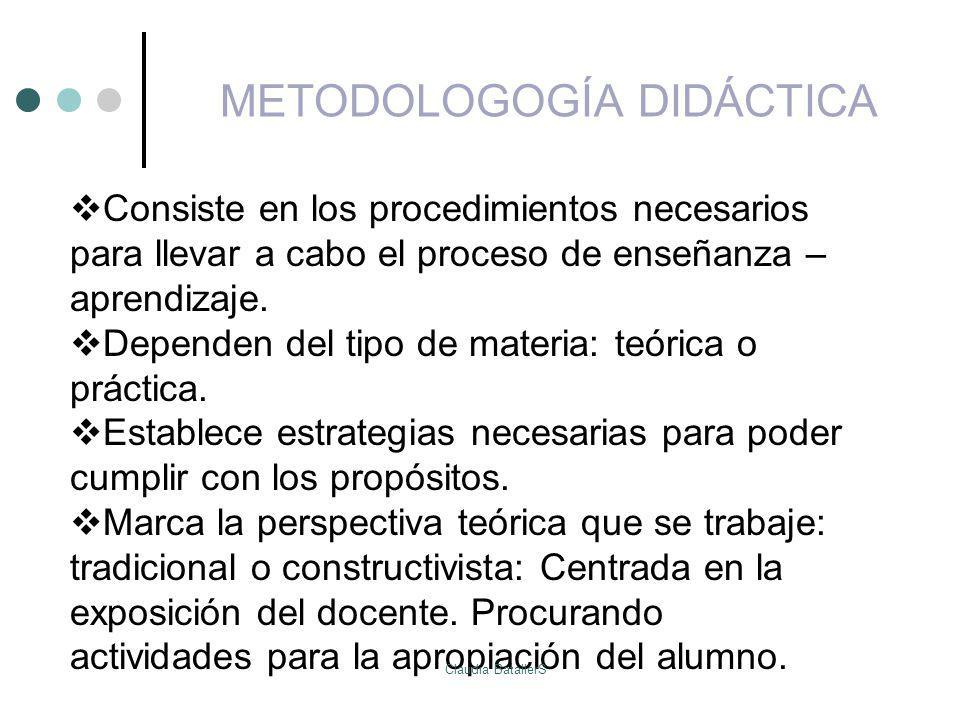 METODOLOGOGÍA DIDÁCTICA