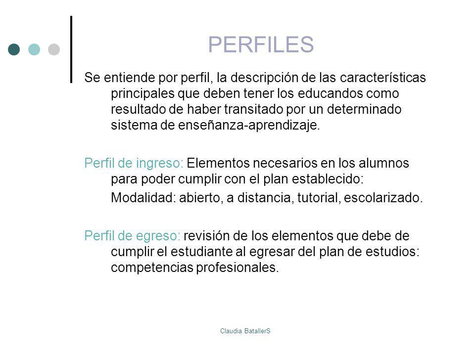 PERFILES