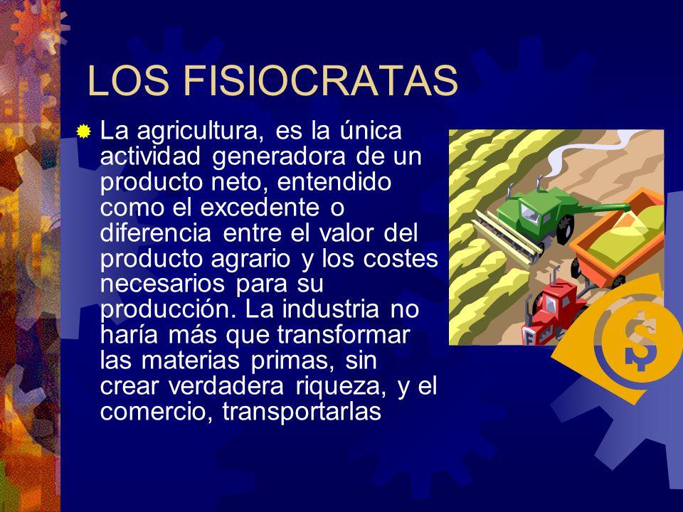 LOS FISIOCRATAS