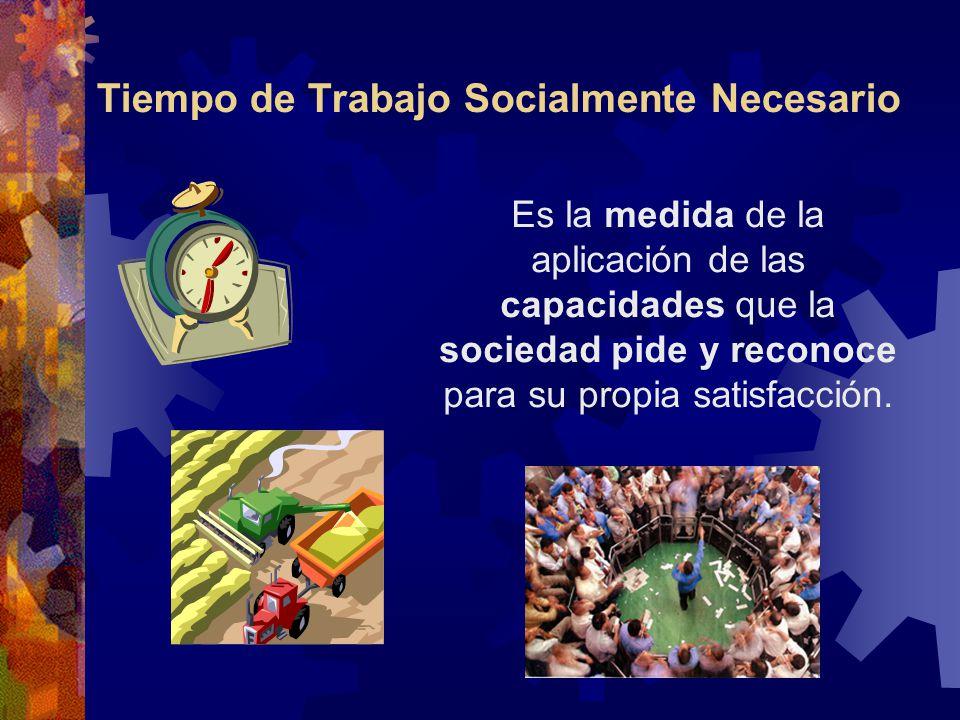 Tiempo de Trabajo Socialmente Necesario