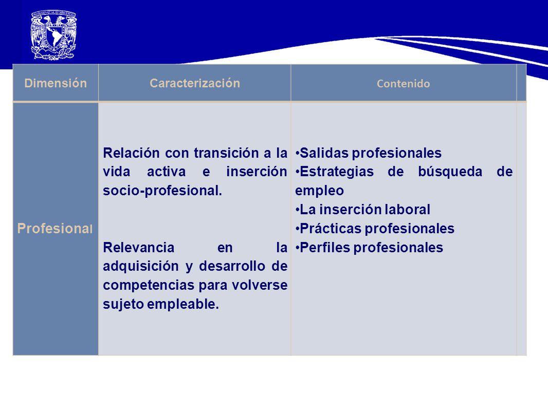 Salidas profesionales Estrategias de búsqueda de empleo