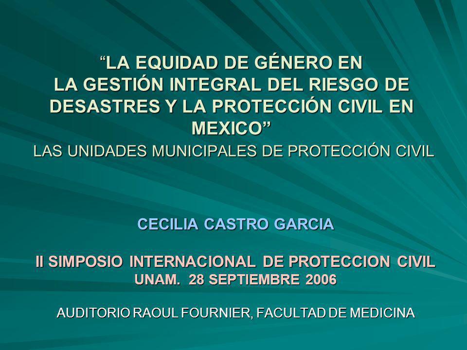 II SIMPOSIO INTERNACIONAL DE PROTECCION CIVIL
