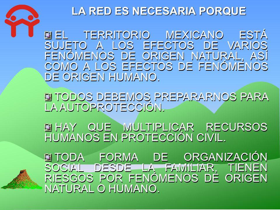 LA RED ES NECESARIA PORQUE