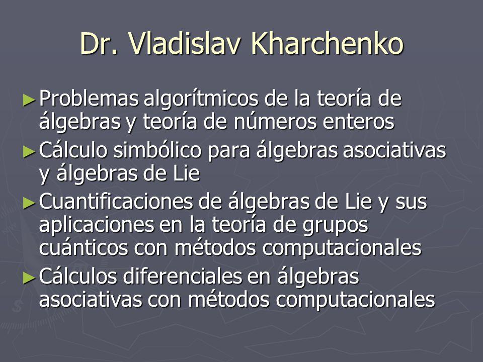 Dr. Vladislav Kharchenko