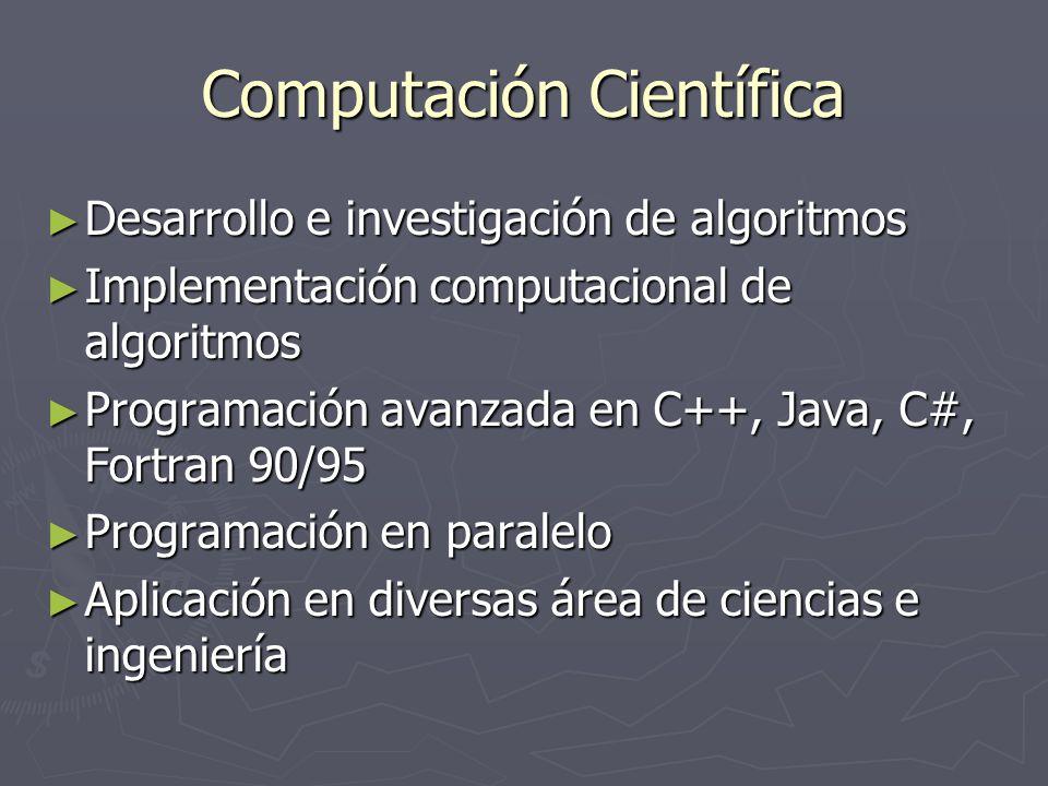 Computación Científica