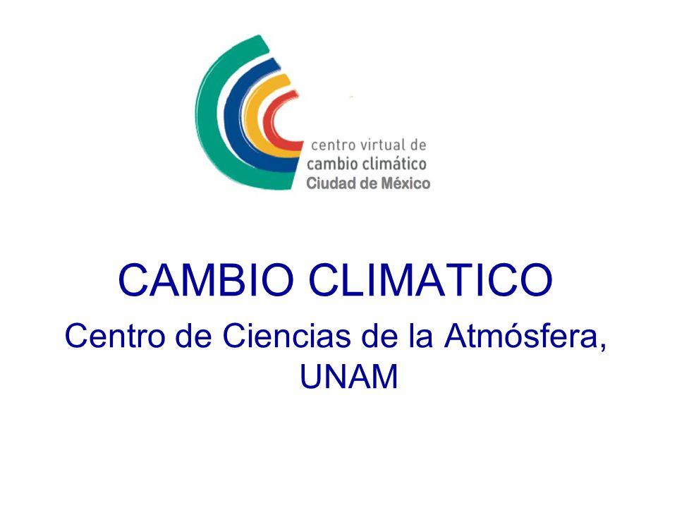 Centro de Ciencias de la Atmósfera, UNAM
