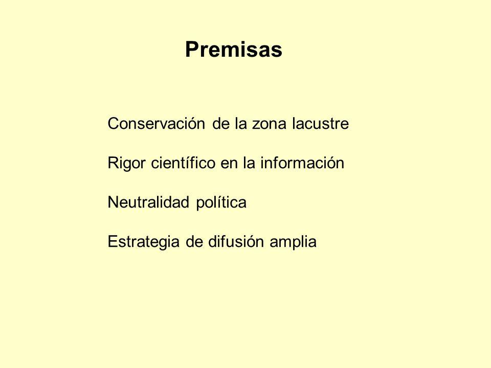 Premisas Conservación de la zona lacustre