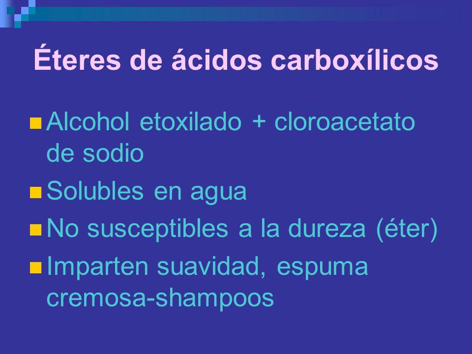 Éteres de ácidos carboxílicos