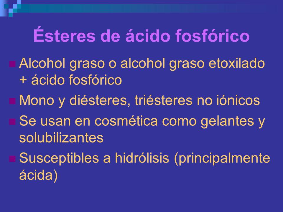 Ésteres de ácido fosfórico