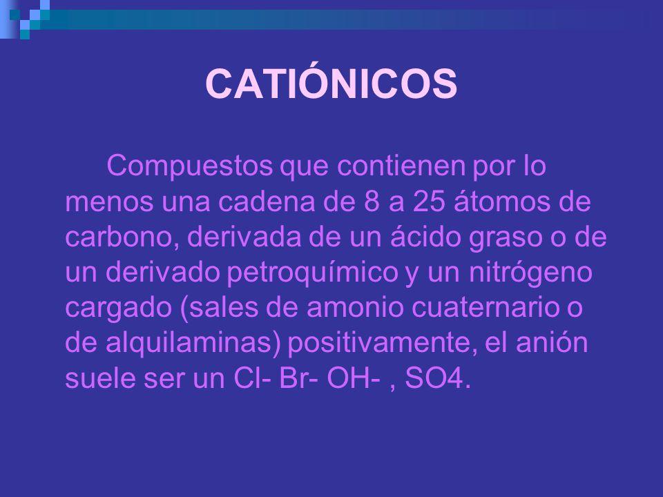 CATIÓNICOS